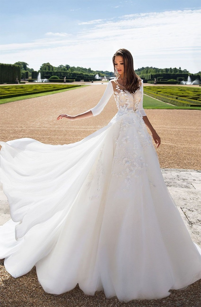 Milla Nova Wedding Dress Inspiration