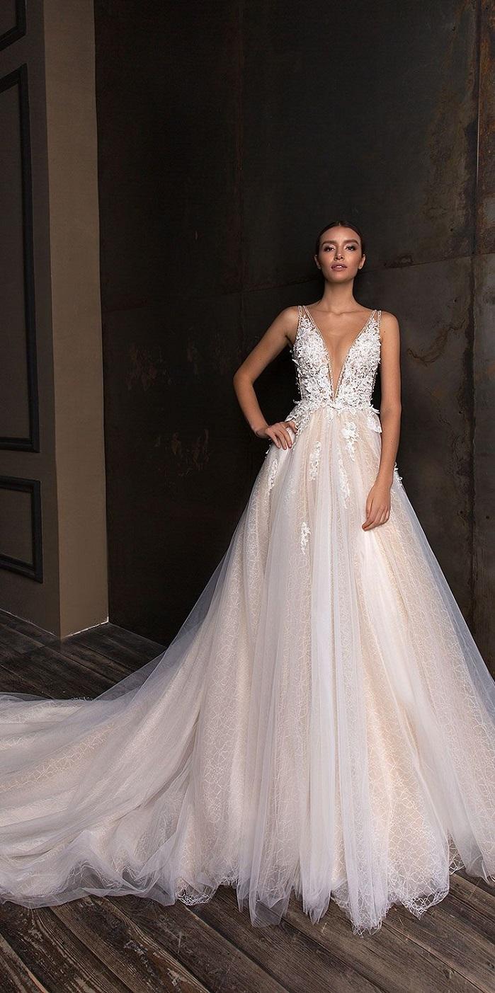Crystal design wedding dress timeless beauty bridal for How much are crystal design wedding dresses