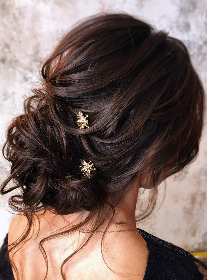 44 Messy Updo Hairstyles The Most Romantic Updo To Get An
