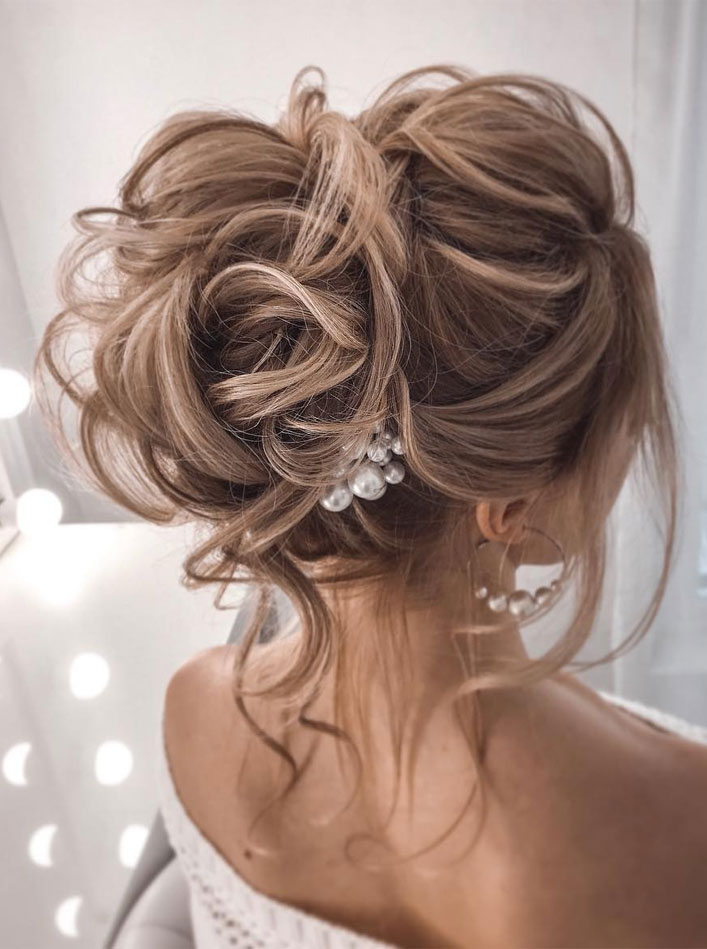 Messy Updo Hairstyles That Will leave You Speechless : Beautiful Messy Updo Hairstyle