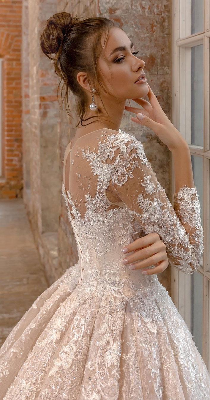 Wedding Dresses with romantic details