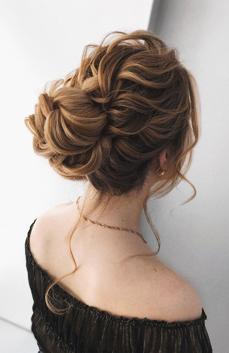 59 Stunning messy updo hairstyles for special occasion