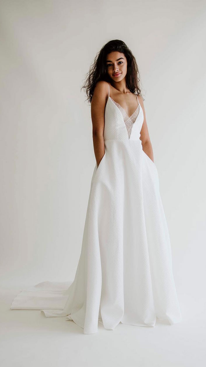 To have & To hold…In These Pretty Wedding Dresses With Pockets
