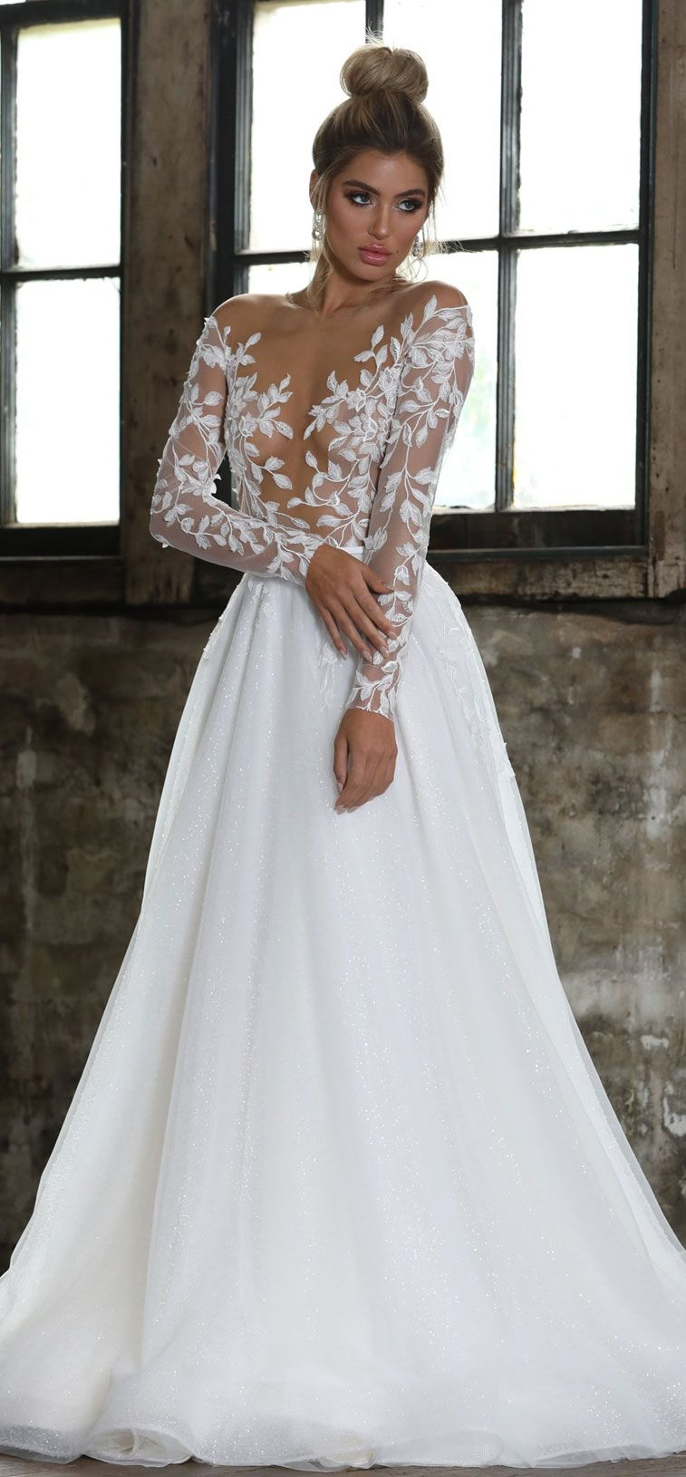 55 Long sleeve wedding dresses for fashion forward brides