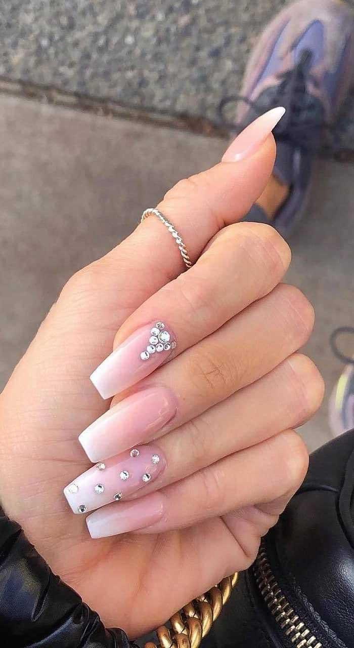 41 best wedding nail ideas for elegant brides