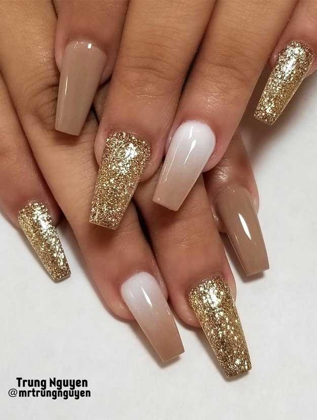 Best glitter nail designs 2019