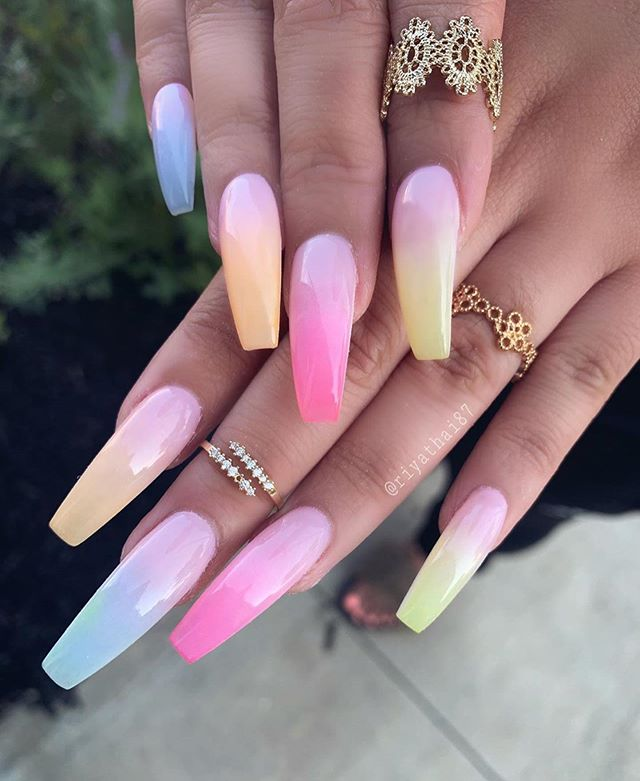 2020 Summer Nail Designs.32 Pretty And Eye Catching Nail Art Designs Wedding