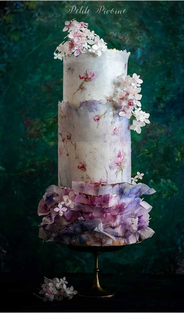 beautiful wedding cake designs, painted wedding cake, unique wedding cakes, pretty wedding cake, modern wedding cake designs, wedding cake designs 2019, wedding cake gallery, wedding cake trends 2019 , wedding cake trends for 2019, wedding cakes designs pictures, latest wedding cake trends, wedding cake 2019, wedding cake trends 2020, new cake trends 2020, cake decorating trends 2020