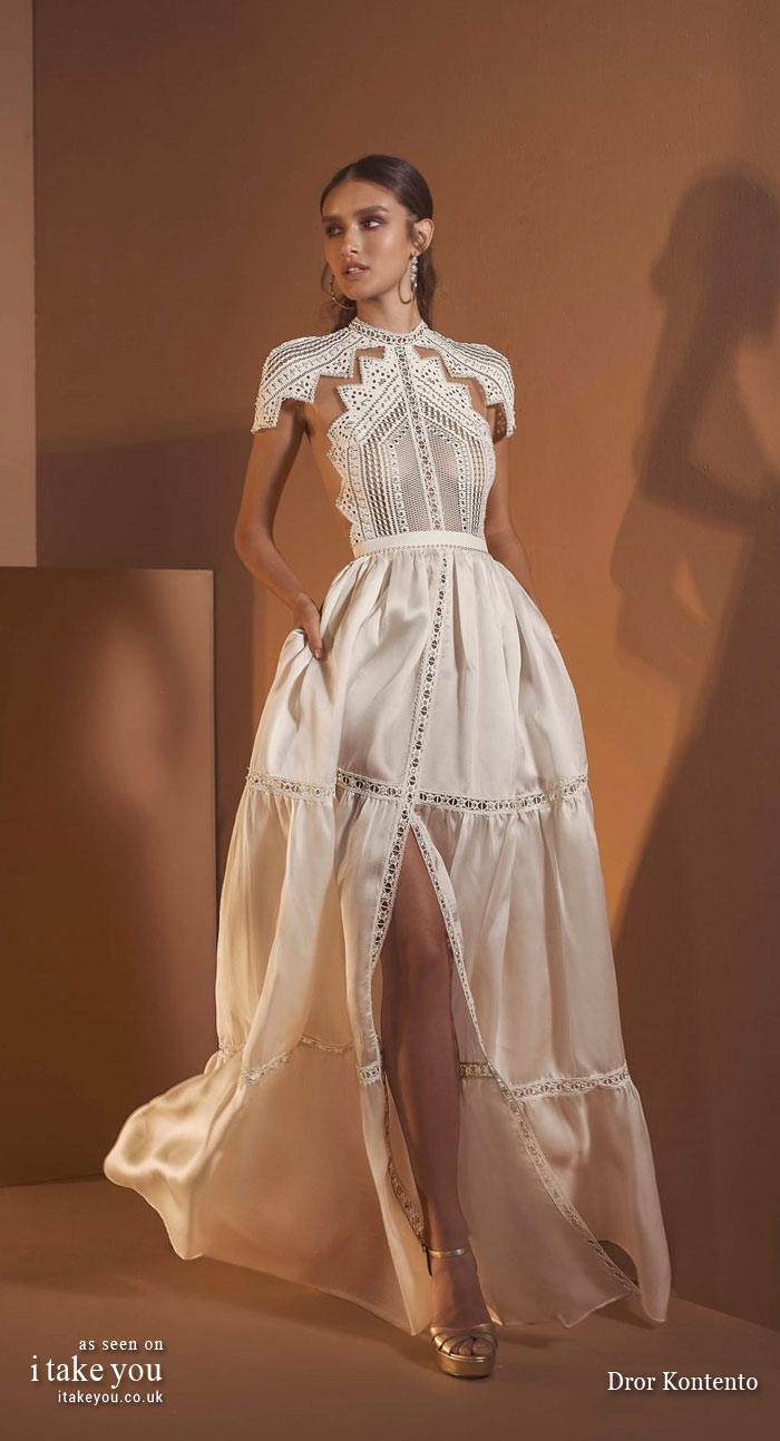 wedding dresses 2020, 2020 wedding dress collections, summer 2020 wedding dresses, wedding dresses 2020 collection, wedding dresses 2020 trends, spring 2020 wedding dresses, wedding dresses , dror kontento wedding dresses 2020