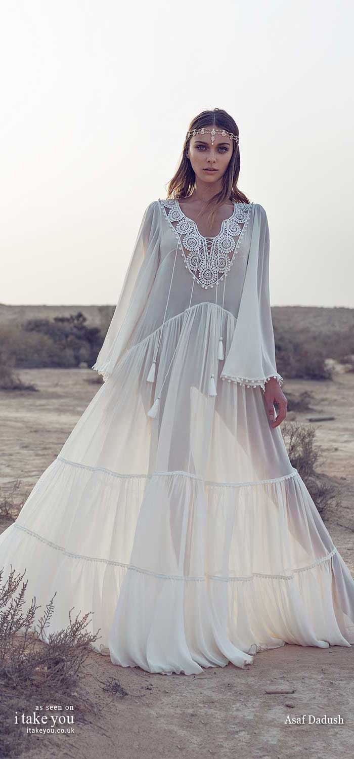 asaf dadush 2019 wedding dresses, asaf dadush wedding dress, asaf dadush bridal 2019, asaf dadush wedding dress 2019, wedding dress, boho wedding dress , wedding gown, boho wedding gowns, bohemian wedding dresses, bohemian wedding dress, modern boho wedding dress, boho chic wedding dresses, casual hippie wedding dresses, short wedding dress