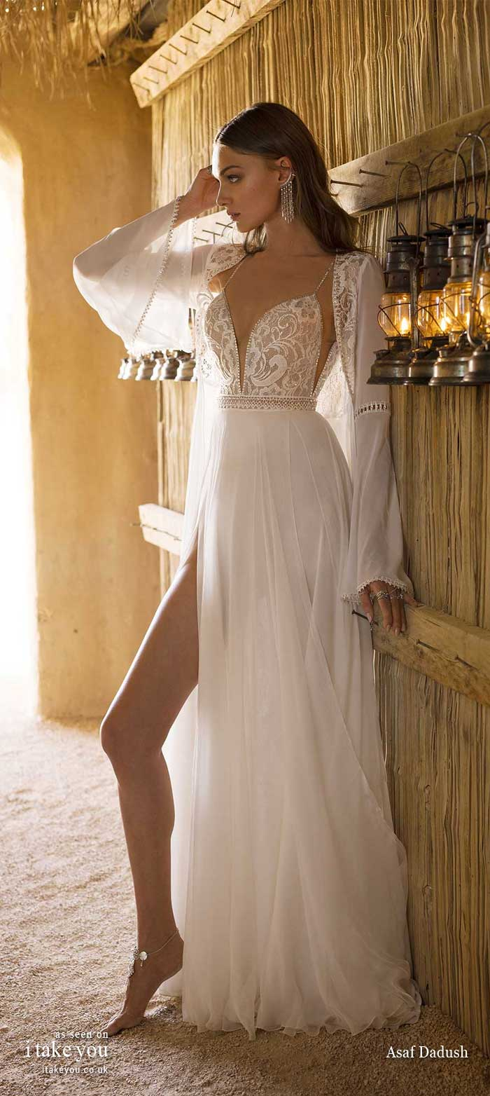 asaf dadush 2019 wedding dresses, asaf dadush wedding dress, asaf dadush bridal 2019, asaf dadush wedding dress 2019, wedding dress, boho wedding dress , wedding gown, boho wedding gowns, bohemian wedding dresses, bohemian wedding dress, modern boho wedding dress, boho chic wedding dresses, casual hippie wedding dresses