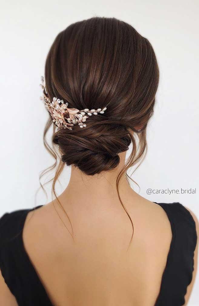 49 Beautiful & romantic wedding hairstyles