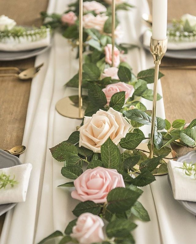 Prettiest Spring Wedding Ideas 2020 – Simple and romantic wedding table