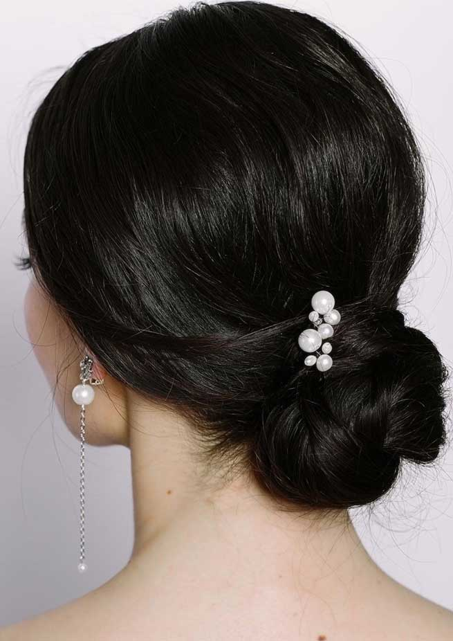 Elegant wedding hairstyles for beautiful brides