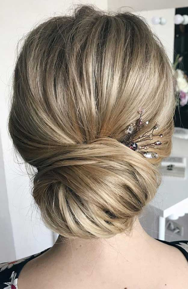 Elegant wedding hairstyles for beautiful brides