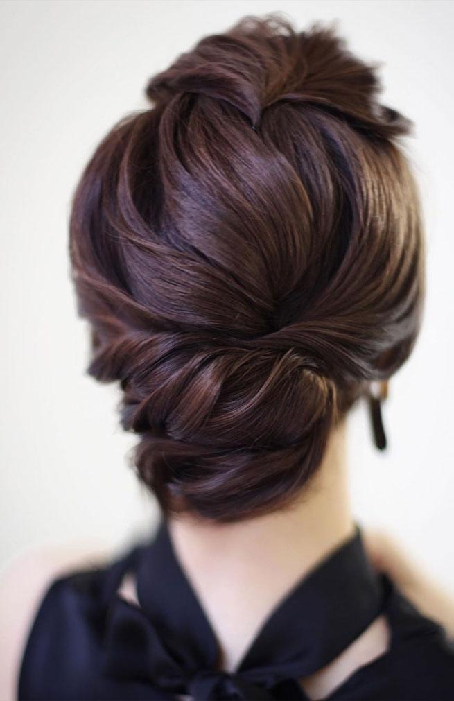 elegant updo hairstyles #hairstyles #updos