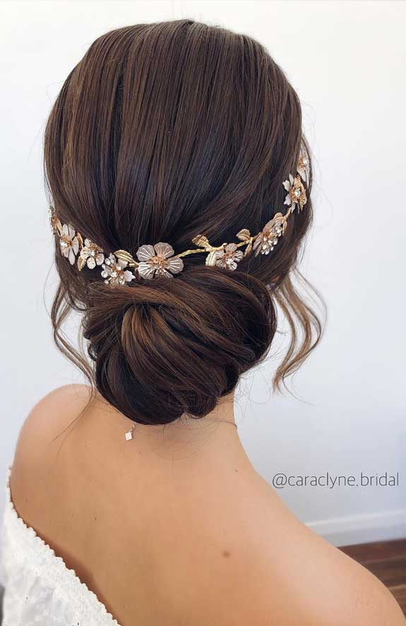 Bridal hairstyles that perfect for ceremony and reception 34