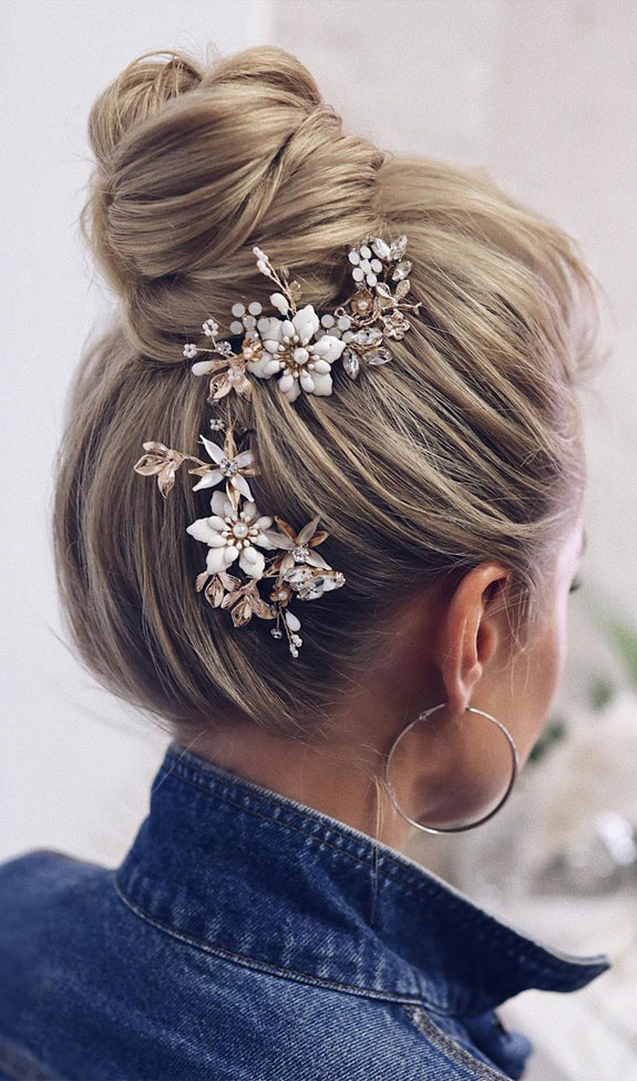 Bridal hairstyles that perfect for ceremony and reception