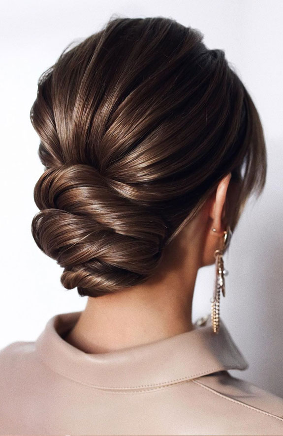 Bridal hairstyles that perfect for ceremony and reception 3