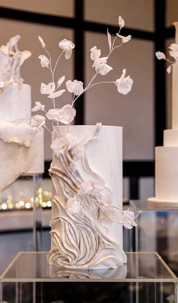 Amazing! These sculpture wedding cakes are works of art 21