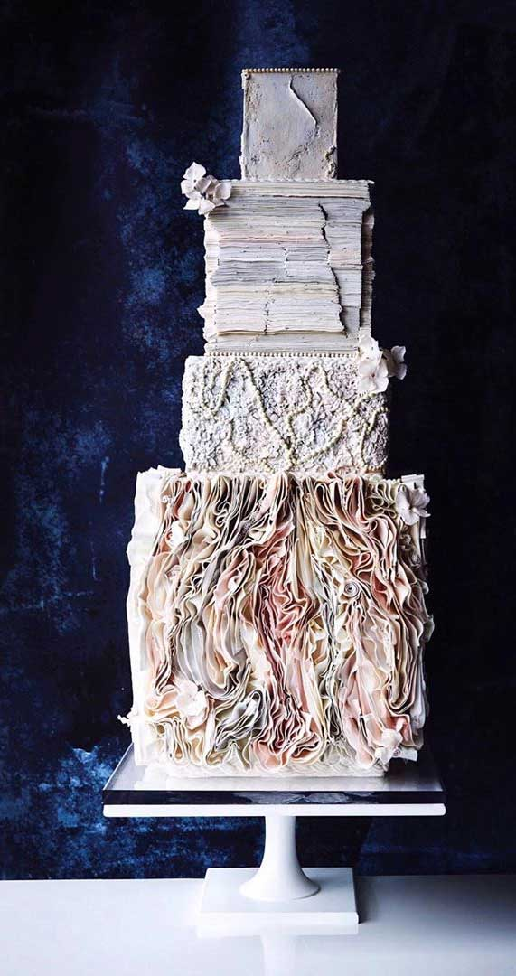 Amazing! These sculpture wedding cakes are works of art 30