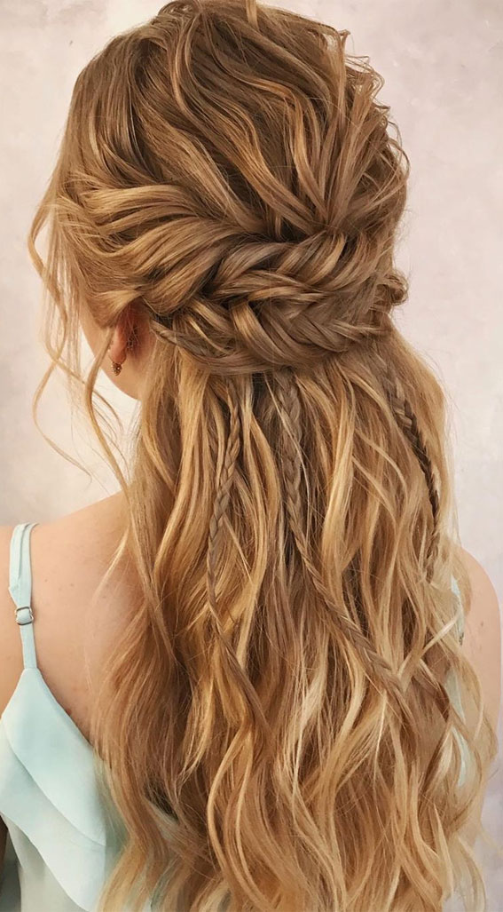 Bridal hairstyles that perfect for ceremony and reception – Braid on braid