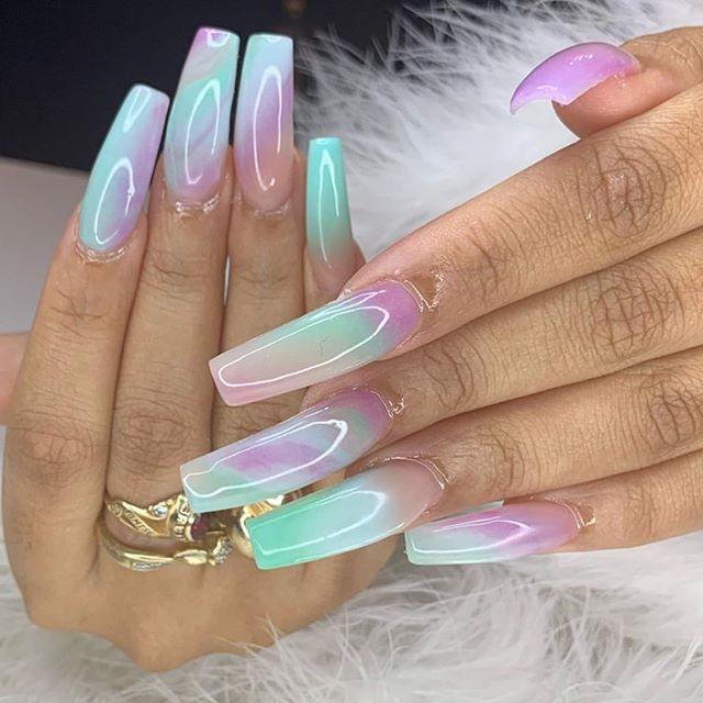 glitter nail art desings 25