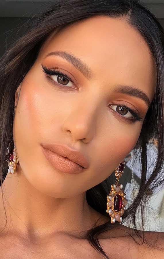 Beautiful Neutral Makeup ideas for Summer perfect for any occasion 55