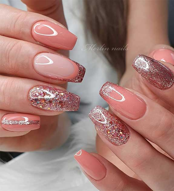 50 Super pretty nail art designs – Dying over these nails! 36