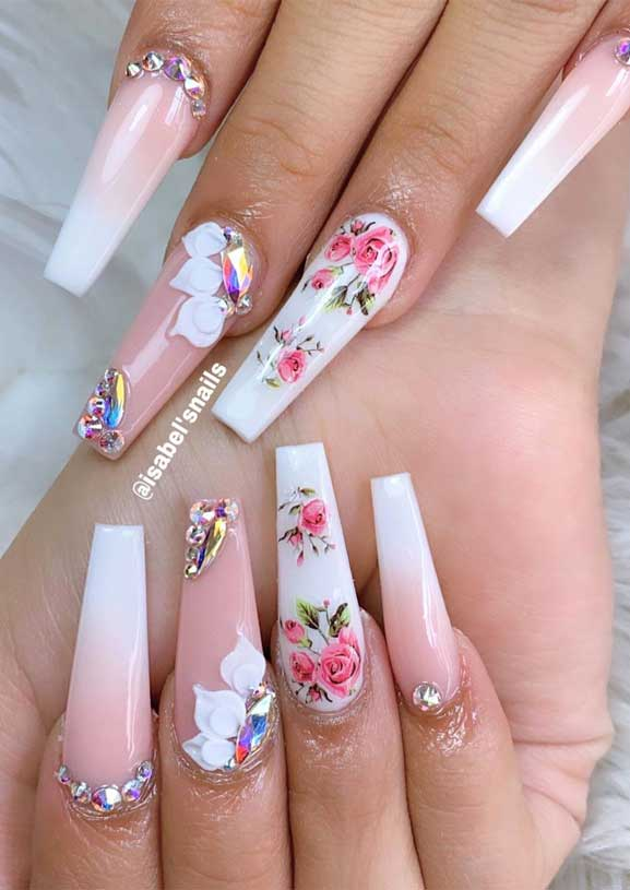 50 Super pretty nail art designs – Dying over these nails! 48