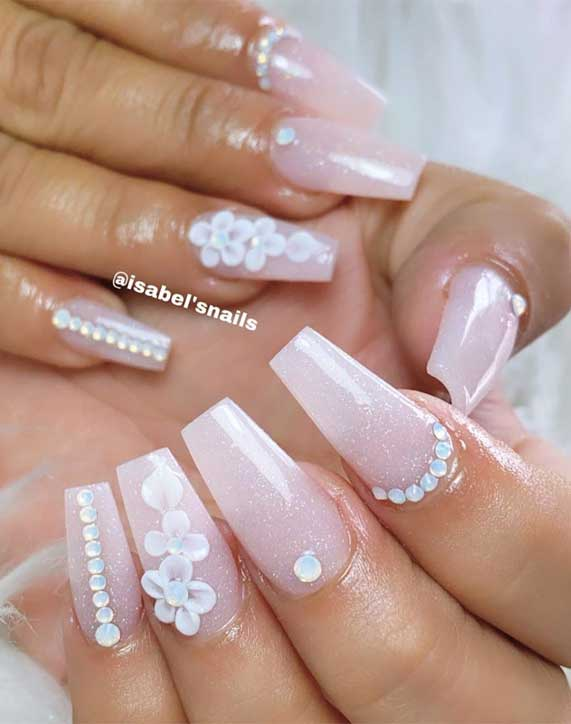 50 Super pretty nail art designs – Dying over these nails! 49