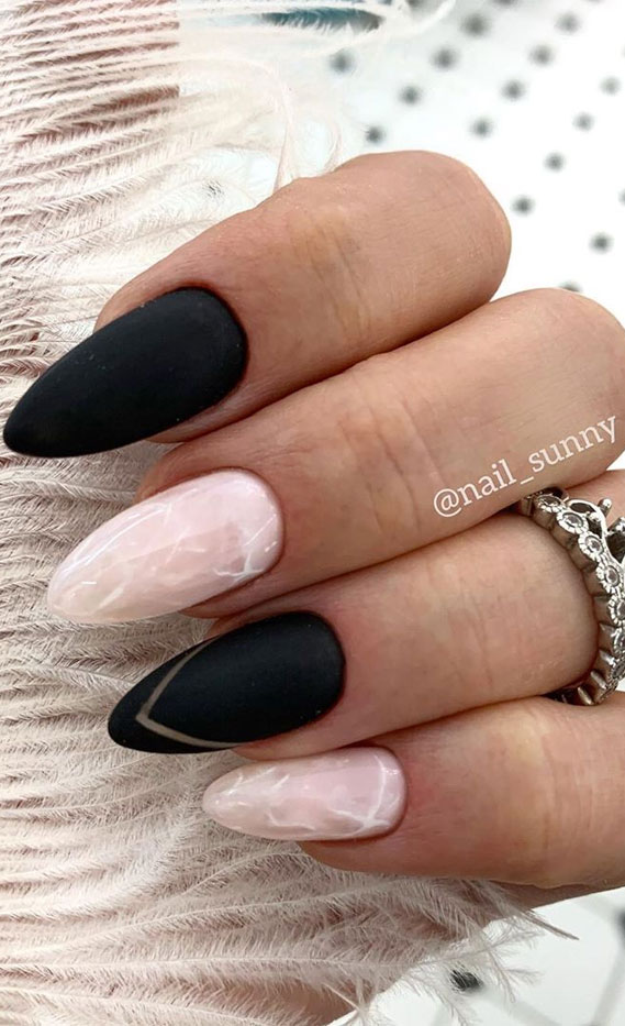 45 Pretty & Romantic Nail Design Ideas To Try
