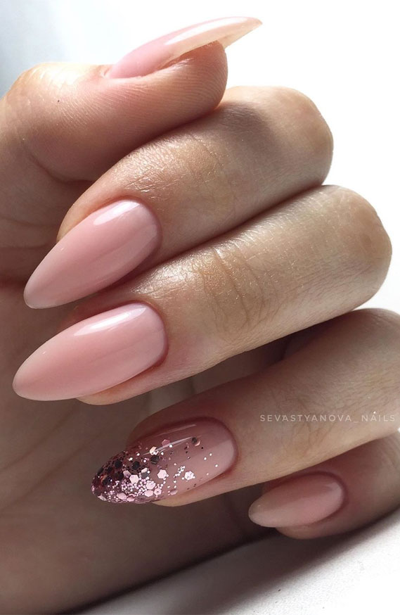 45 Pretty & Romantic Nail Design Ideas To Try