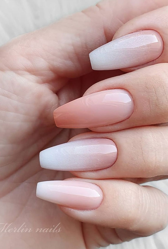 45 Pretty Romantic Nail Design Ideas To Try