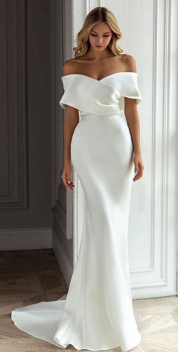 Eva Lendel Wedding Dresses – Less is More 2021 Bridal Collection