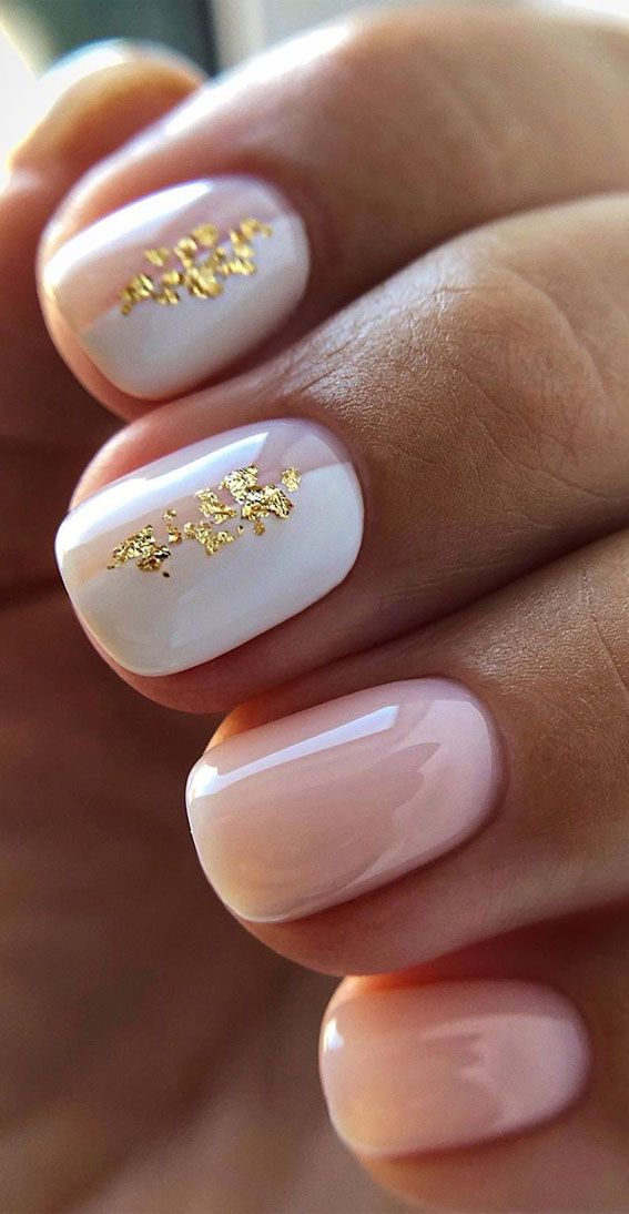 +32 Gorgeous Nail Art Designs – Glossy and glitter