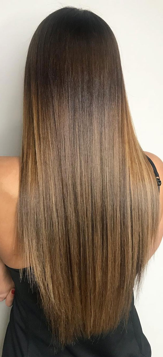 44 The Best Hair Color Ideas For Brunettes – Natural looking
