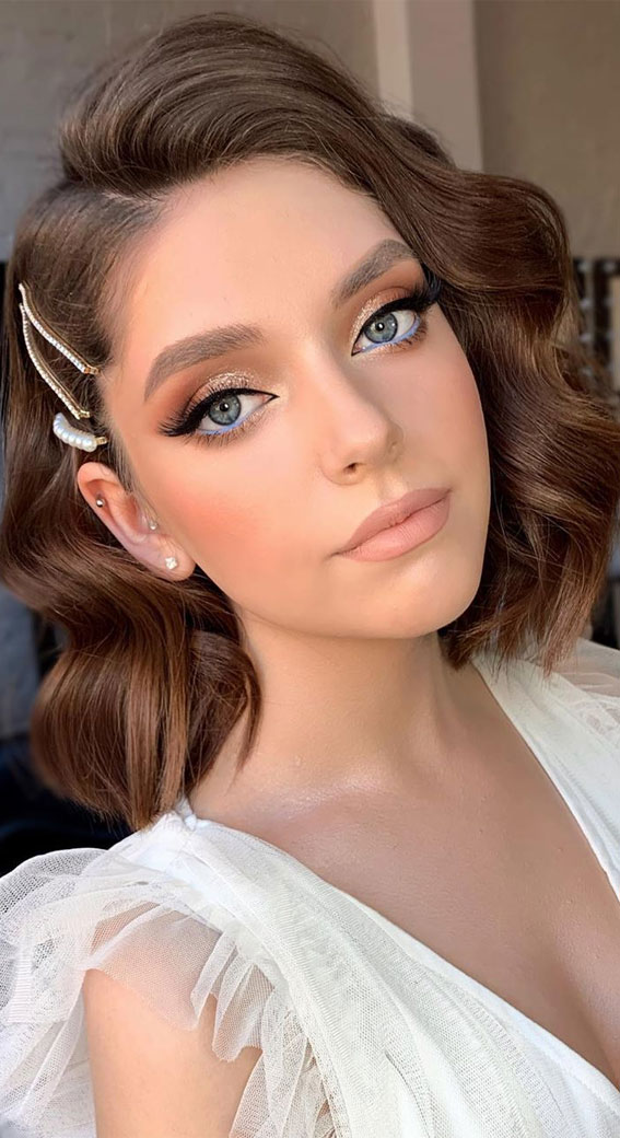 32 Glamorous Makeup Ideas For Any Occasion – Elegant & Playful bridal look