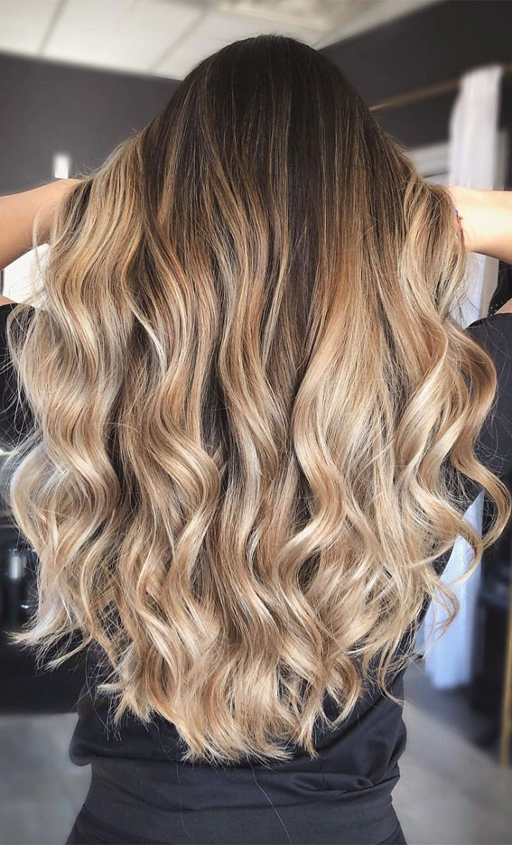 Beautiful Hair Colour Trends 2021 : Snickerdoodle Blonde
