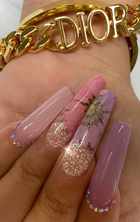 Summer Nail Designs You'll Probably Want To Wear : Flower Nails