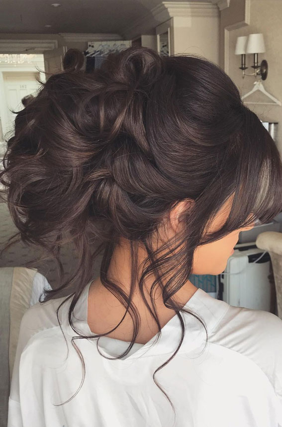 70 Latest Updo Hairstyles for Your Trendy Looks in 2021 : Boho crown braid