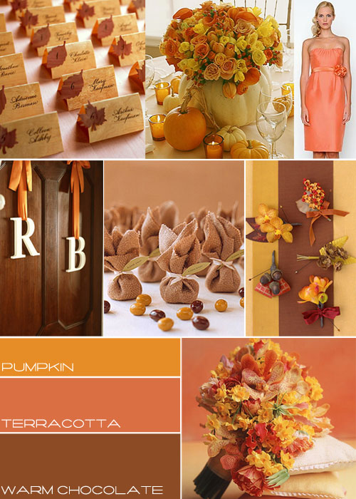 Autumn wedding colours autumn weddings wedding mood board for Autumn wedding decoration ideas