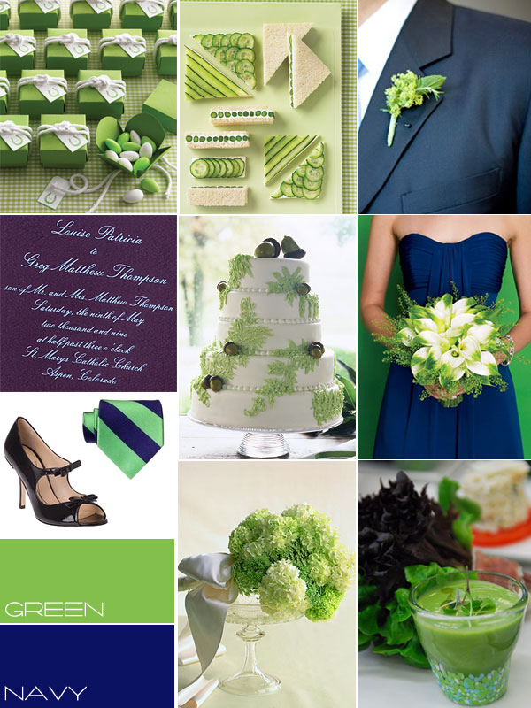 blue green wedding colour, navy green wedding colour, wedding theme