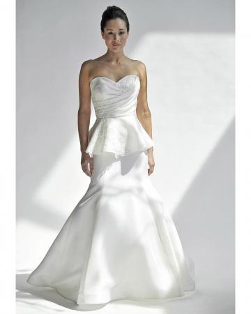 Peplum wedding dresses wedding directory uk for Peplum dresses for weddings