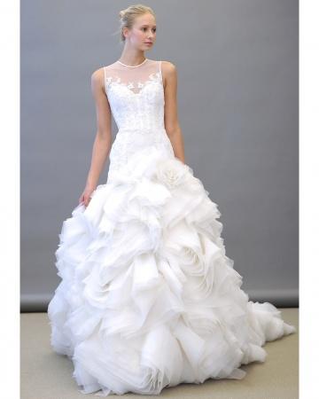 Lazaro Wedding Gowns Spring Wedding Dresses