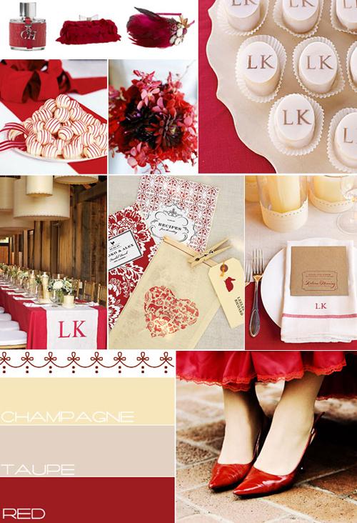 Red And White Wedding Theme Ideas Ronieronggo