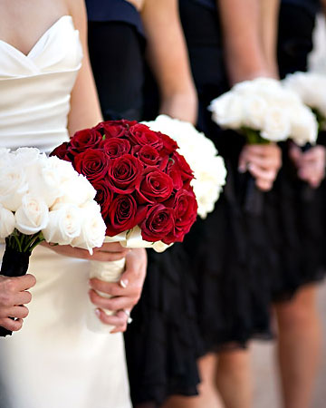 Red Wedding Bouquets Red Bridal Bouquets