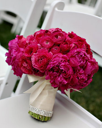 Pink Wedding Bouquets Fuschia Bridal Bouquets