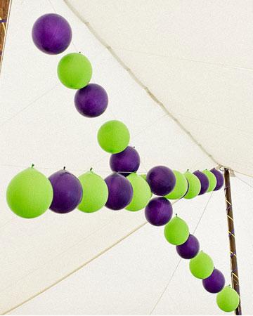 Purple Green Wedding Themes Wedding Colours
