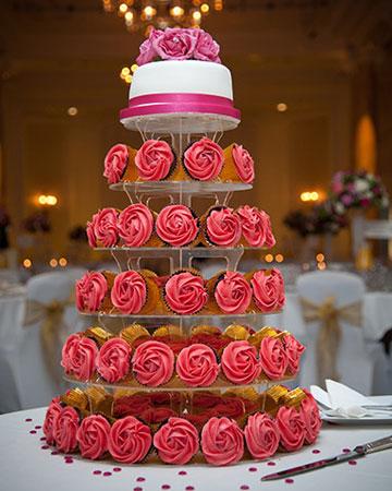 Wedding Cakes 1 Tier Wedding Cupcakes